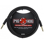 Pig Hog 10ft Instrument Cable Black PCH10BK