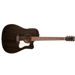 Art & Lutherie Americana Cutaway Acoustic Guitar Solid Spruce Top Quantum I Electronics Faded Black 042463