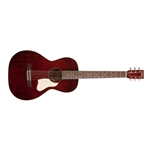 Art & Lutherie Roadhouse Acoustic Guitar With Fishman Pickup Solid Cedar Top Tennessee Red 042401