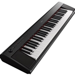 Yamaha NP-12B 61-Key Touch Sensitive Piaggero Keyboard, Black With Accessory Kit NP12B-KIT