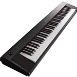 Yamaha NP-32B 76-Key Touch Sensitive Piaggero Keyboard, Black With Accessory Kit NP32B-KIT