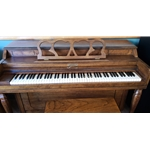 "1980 Conover 38"" Mahogany Spinet Piano with Bench CONOVESPINET"