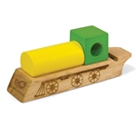 Green Tone Train Whistle 3776