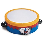 "6"" Multi-Colored Tambourine S601C"