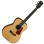 Cort Luce Series Acoustic Guitar, Grand Concert Body, Natural Satin Finish L100-C-NS