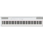 Yamaha P125WH 88-Key Weighted- Action Digital Piano, White