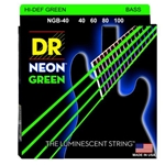 DR Strings Hi-Def Neon Bass Strings. Light NGB40