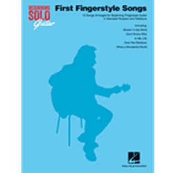 First Fingerstyle Songs for Guitar