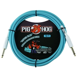 PIG HOG 10' GTR Cable Daphne Blue PCH10DB