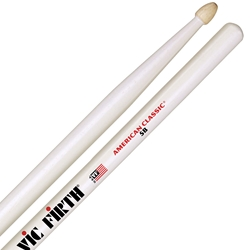 Vic Firth 5B White Drumstick 5BW
