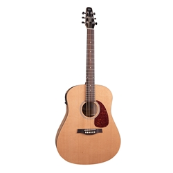 Seagull S6 Classic M-450T Acoustic/Electric Guitar With Solid Spruce Top & Wild Cherry Back And Side 041237