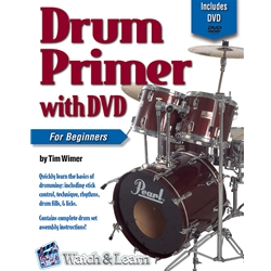 Drum Primer Deluxe Edition Book/DVD