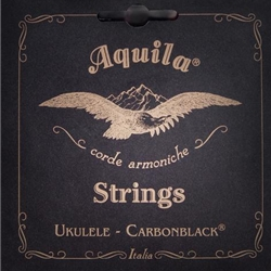 Aquila Tenor Ukulele String Set, Carbon Black 143U