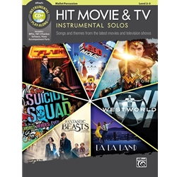 Hit Movie and TV Instrumental Solos, Mallet Percussion