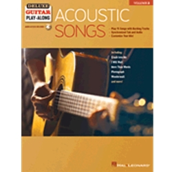 Acoustic Songs, Guitar Play-Along Volume 3