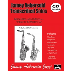 Jamie Aebersold Transcribed Solos, BK/CD