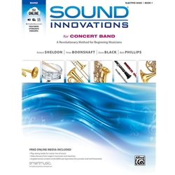Sound Innovations for Concert Band, Book 1, Electric Bass