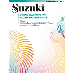 Suzuki String Quartets Volume 1