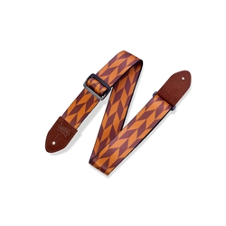 Levy's Print Series Offset Arrow Guitar Strap  MPF2-004
