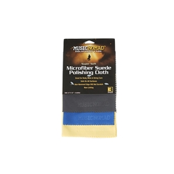 Music Nomad Microfiber Suede Polishing Cloths, 3-pack MN203