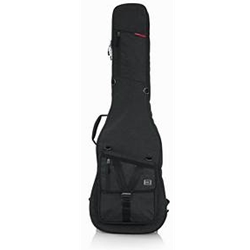 Gator Transit Series Bass Guitar Gig Bag with Charcoal Black Exterior GT-BASS-BLK