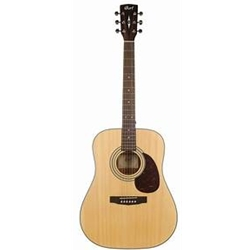 Cort Earth70 Dreadnaught Acoustic Guitar, Solid Spruce Top, Open Pore Finish EARTH70OP